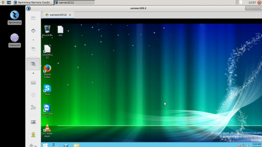 The Thinux image on the M2 supports Remote Desktop Connections to all versions of Windows. Here you can see the screenshot of the M2 connecting to a Windows 2012 Server.