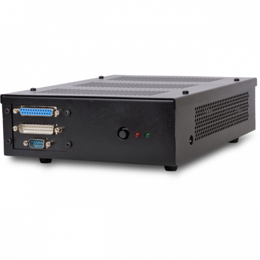 Neo Thin Client profile view with front legacy ports